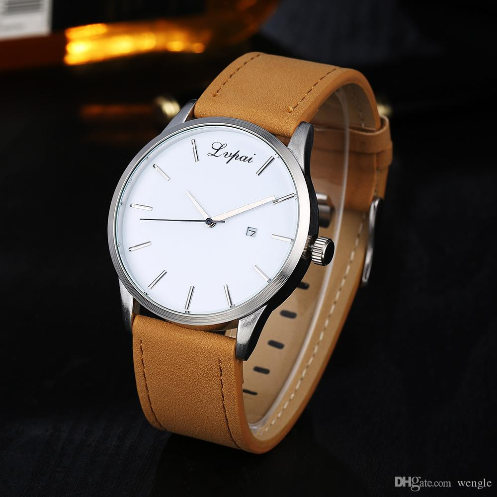 wengle New 2018 lvpai Europe the United States selling Casual Commerce Simple calendar Belt Quartz watch