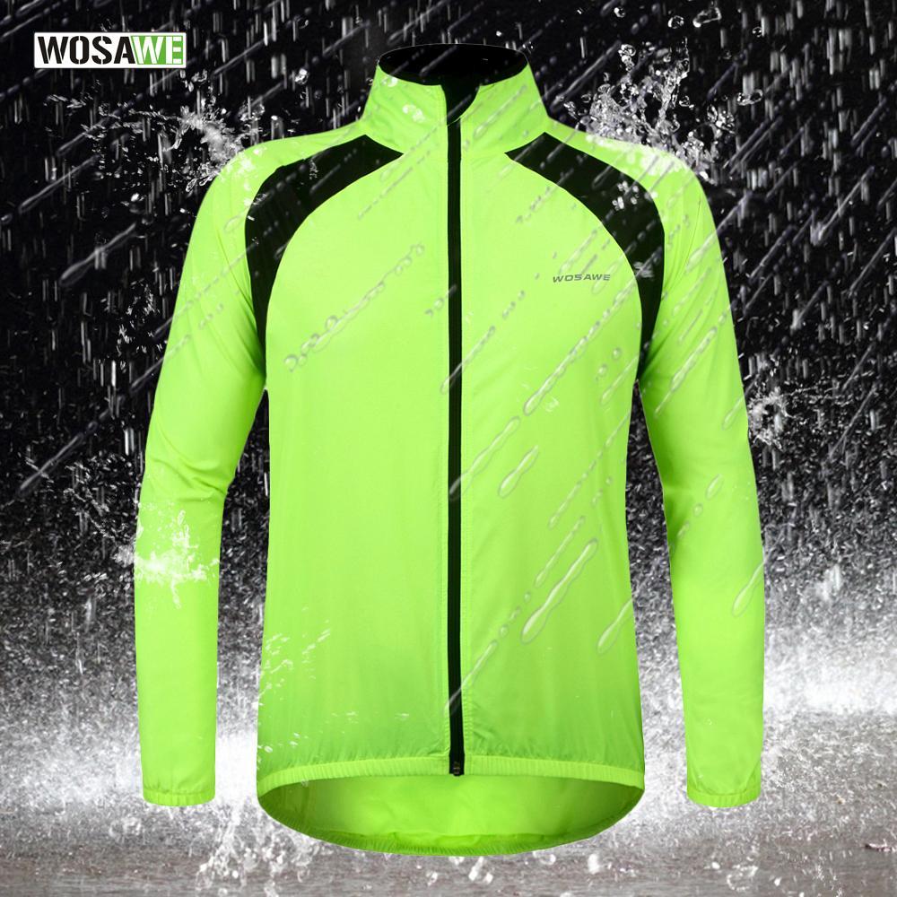 f3e7995b5 WOSAWE Bike Bicycle Cycling Cycle Water Repellent Rain Coat Raincoat ...