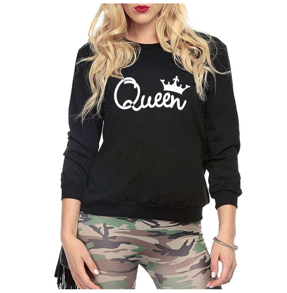 Women Crown Queen Printed Women S Sweatshirts Hot Autumn Winter Hoodies  Women Sweatshirt Fleece High Quality Pullovers UK 2019 From Amandal 3fd869b5e7
