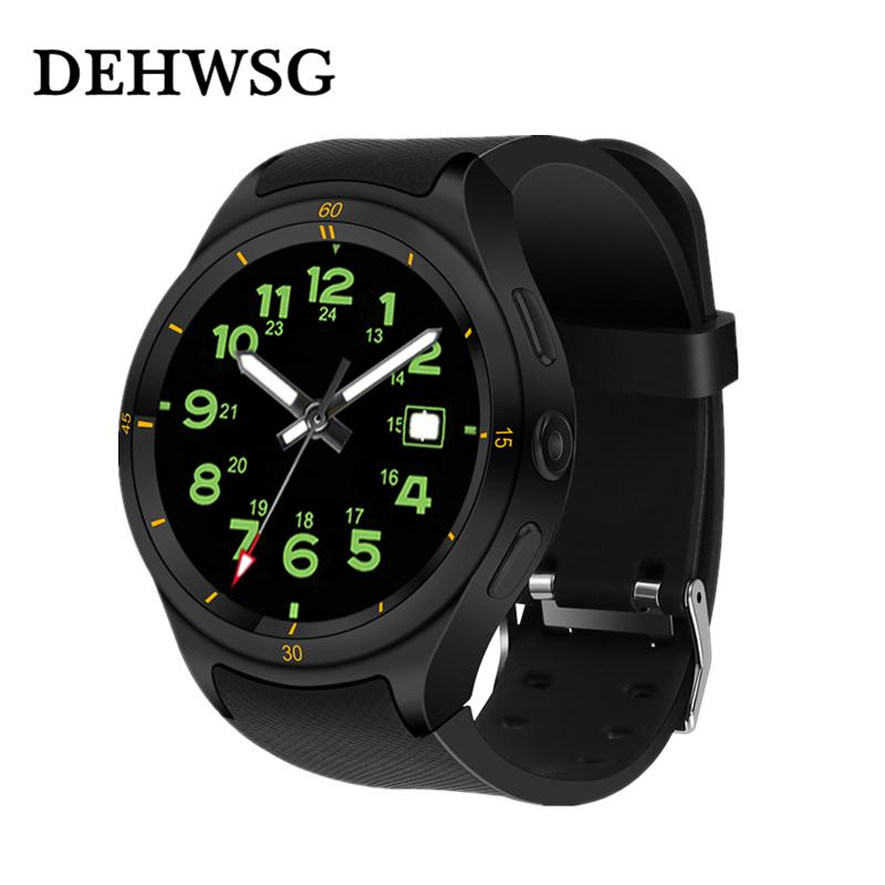 Newest Smart watch PK KW88 MTK6580 3M Camera SIM 3G phone watch 4.0 WIFI Android 5.1 GPS Long standby smart men
