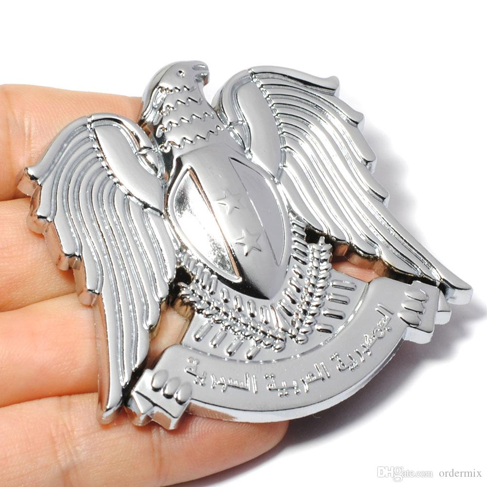 3D Metal Eagle Car Sticker for TOYOTA CROWN RAV4 REIZ PRIUS COROLLA VIOS CAMRY LAND CRUISER PRADO COASTER Highlander Levin Yaris