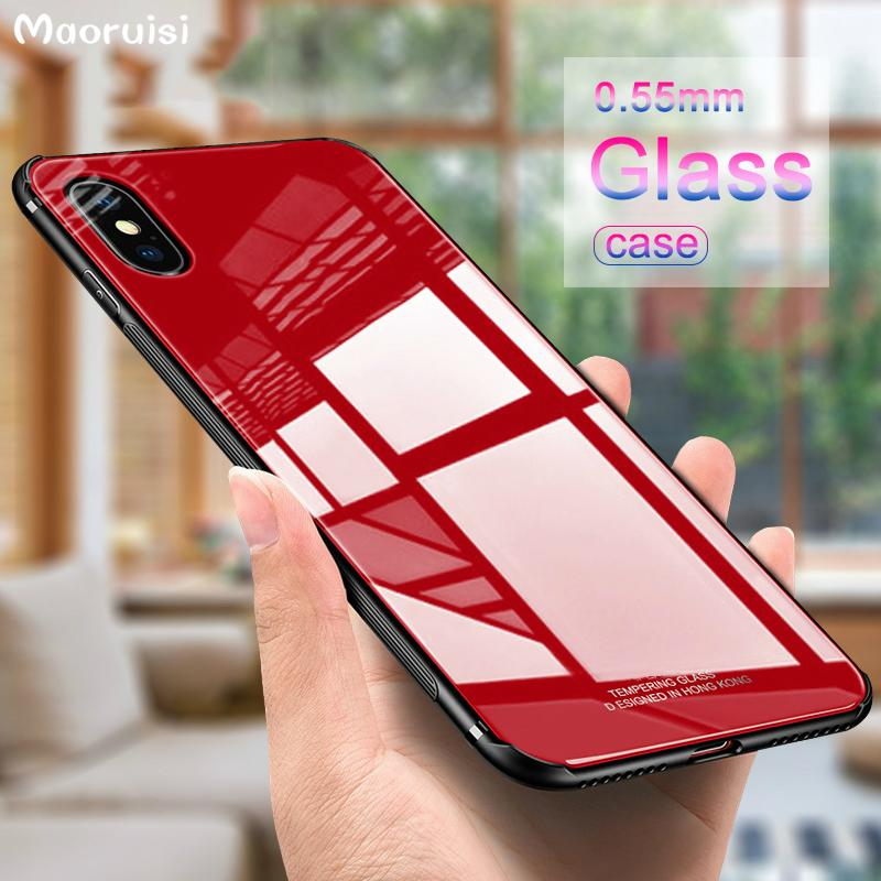 tempered glass iphone xs max case