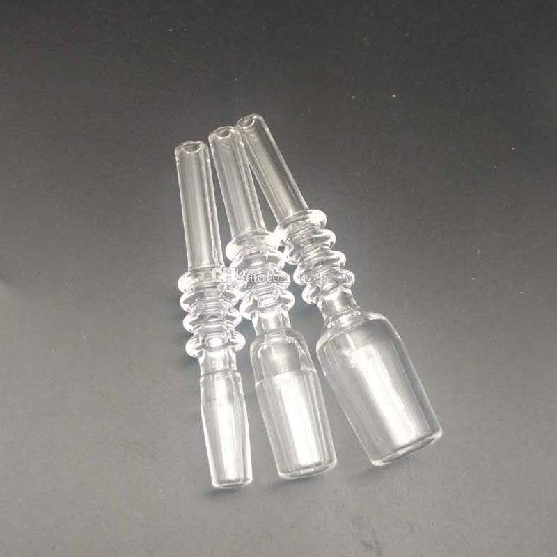 Chiodo del quarzo di DHL 10mm 14mm 18mm il tubo di vetro Kit di nettare del collettore del quarzo Punte del quarzo del chiodo di Banger