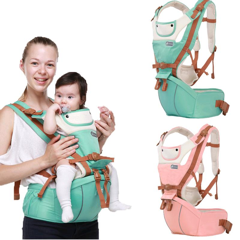 b30e0dd0406 2019 Ergonomic Baby Carrier 0 36 Months Breathable Front Facing Infant  Comfortable Sling Backpack Pouch Wrap Baby Kangaroo Newborn From Ferdimand