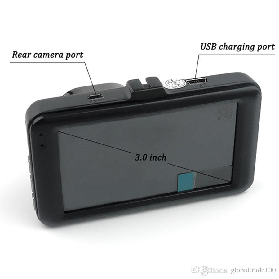 Car DVR Full HD 1080P Car Cameras Recorder Black Box 170 Degree Wide Angle 3.0 inch G-sensor Best Quality