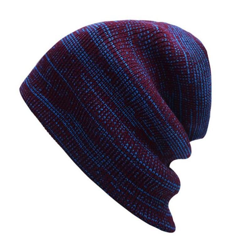 4977302d Seioum Winter Beanies Solid Color Hat Unisex Plain Warm Soft Beanie Skull  Knit Cap Hats Knitted Touca Gorro Caps For Men Women