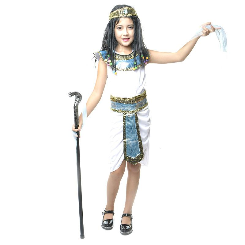 c96cc6b0ceac Sexy Fancy Dress Egypt Princess Costume For Girls Halloween Performance  Cosplay Clothing Children Evening Party Clothes Halloween Costumes For  Teams ...
