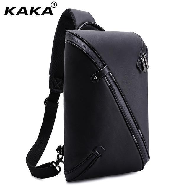 f2f73f8ae505 KAKA Brand Design Unisex Men Fashion Messenger Bags Expandable Chest ...