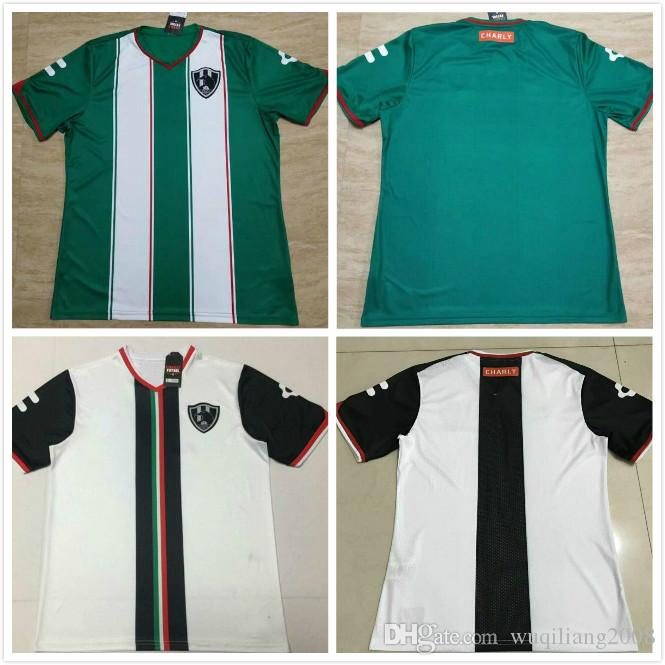 18 19 Camisetas De Fútbol De Liga Mx Club De Cuervos Local Visitante Verde  Blanco Personalizado Temporada Nueva Crows Camiseta De Fútbol Camiseta Por  ... f53688d3ab7fc