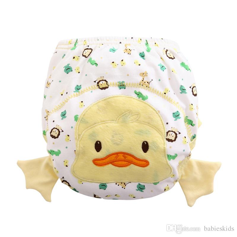 New Baby Reusable Diapers Soft Cotton Breathable Baby Nappy Bags Cloth Diaper Inserts Washable Nappies Changing Cloth