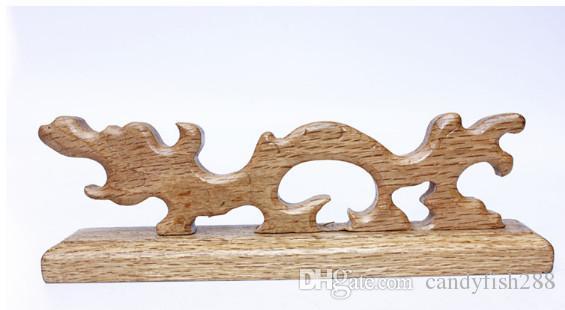 Grande longa vida durável durável de Bige do penholder especial da escova da pena de bambu do dragão