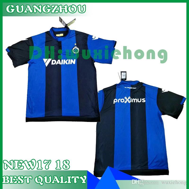3dd7d34ab8c Top Thai Quality 2017 2018 Belgium Club Brugge KV Football Jersey Home  Custom Name Number 17 18 Soccer Jersey Sports Wear Shirts Club Brugge KV  Soccer .