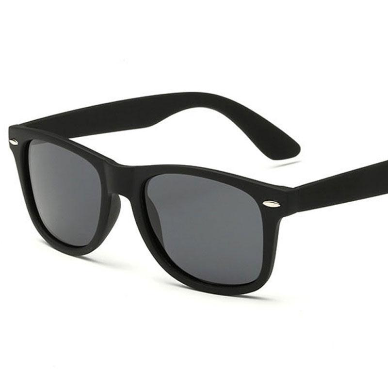 136db33f695 Brand Design Classic Square Polarized Sunglasses for Men Women ...