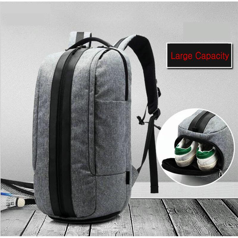2019 Mens Gym Bag With Compartment For Shoes Women Travel Leather Bag  Waterproof Oxford Sport Backpack Boy Large Capacity Gym Handbag From  Duriang 71b1d56e84acd