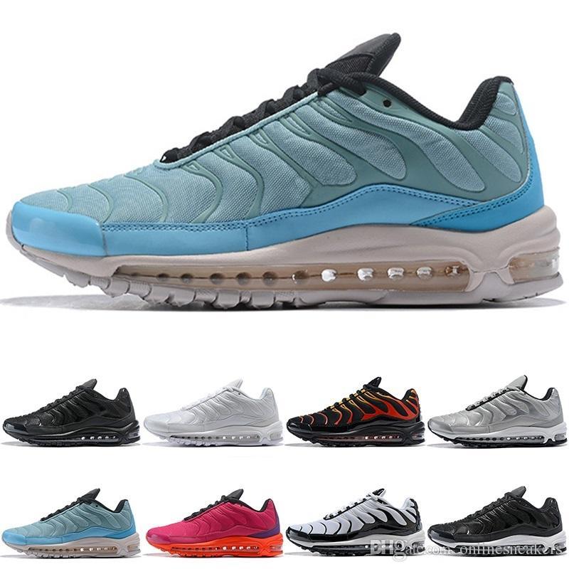 Großhandel Nike TN Plus Vapormax Air Max Airmax Top Billig Herren Freizeitschuhe Plus TN Ultra Sport Requin TN Männer Freizeitschuhe Für Herren