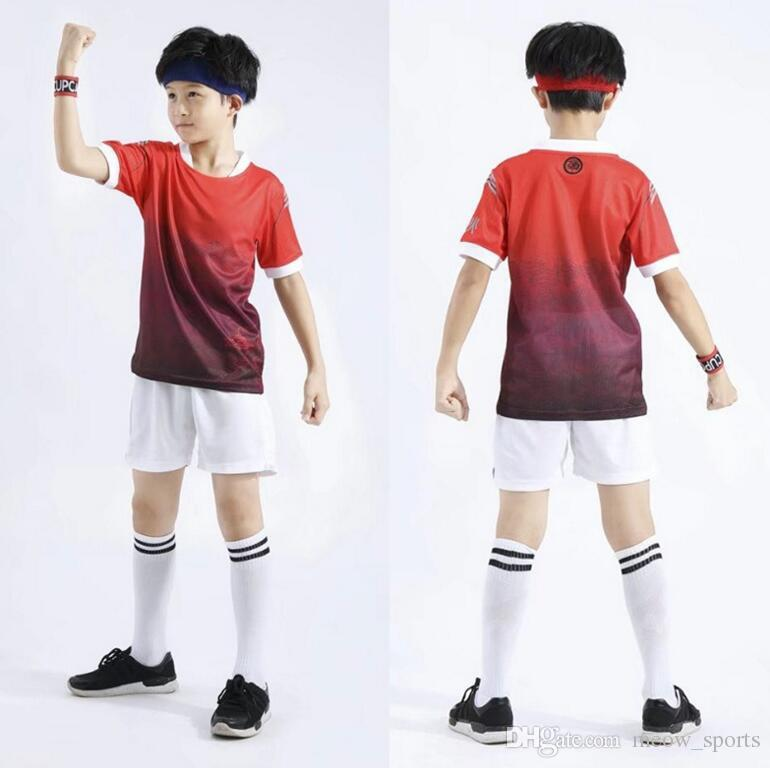 11cc0c3d22a 2019 Personalized Football Shirts Design Soccer Suits New Boys Sport  Jerseys T Shirt Quick Dry Slim Sports Jersey From Meow_sports, $9.83 |  DHgate.Com