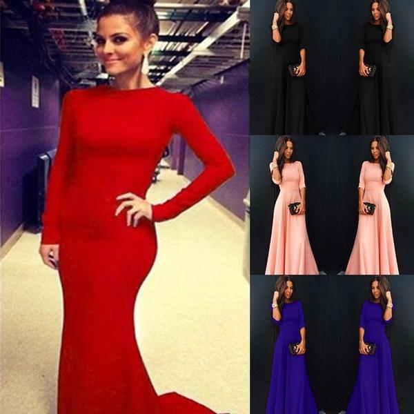 80fe368501 Sexy Women Long Sleeve Prom Ball Dress Cocktail Party Dresses Formal  Evening Gown Sweater Dresses Lace Dresses From Channnn
