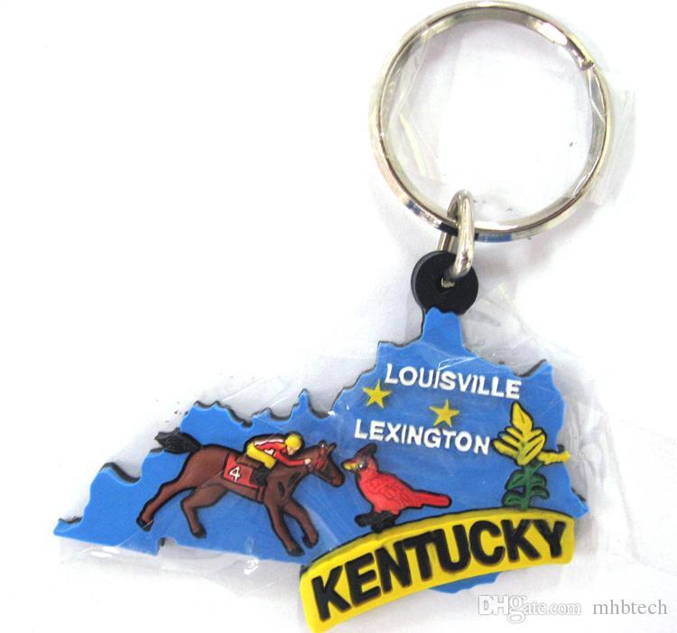 2016 HOT Selling Key Chains Wholesale Custom 3D Cute Cartoon Logo Key Tag  Soft PVC Rubber