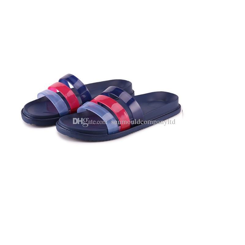 NUOVA Europa Marchio Moda sandali mensstriped causale antiscivolo uomini estate huaraches pantofole infradito scarpe pantofola MIGLIORE QUALITÀ