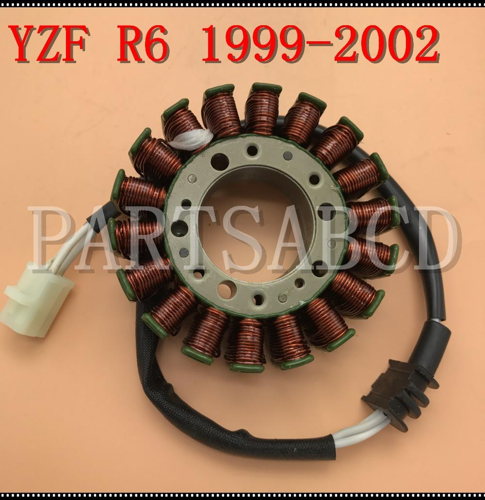 Motorcycle Stator Magneto For Yamaha R6 YZFR6 YZF-R6 1999-2002 Generator