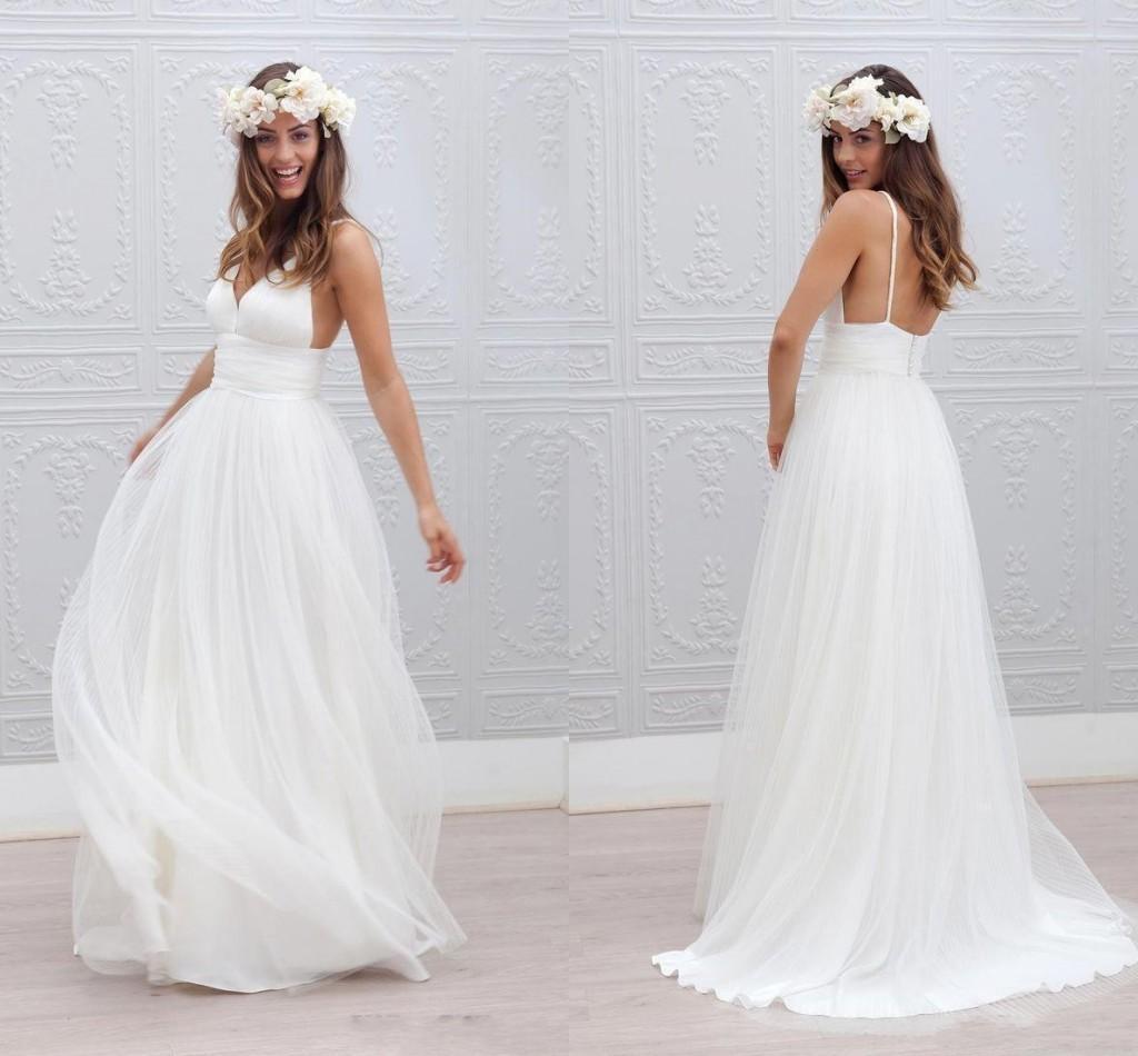 Cheap Winter Court Wedding Dresses Discount Deep Neckline Wedding Dresses 2e173031aed5