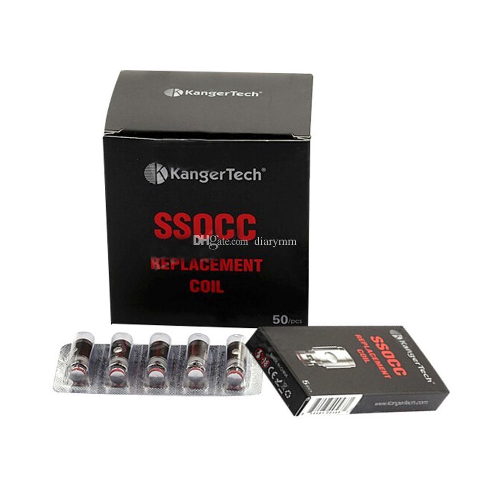 Kangertech OCC SSOCC Coils Vertical Subtank coils 0.2 0.5 1.2 1.5ohm Kanger SSOCC fit Subtank Series NEBOX SUBVOD SUBOX kit