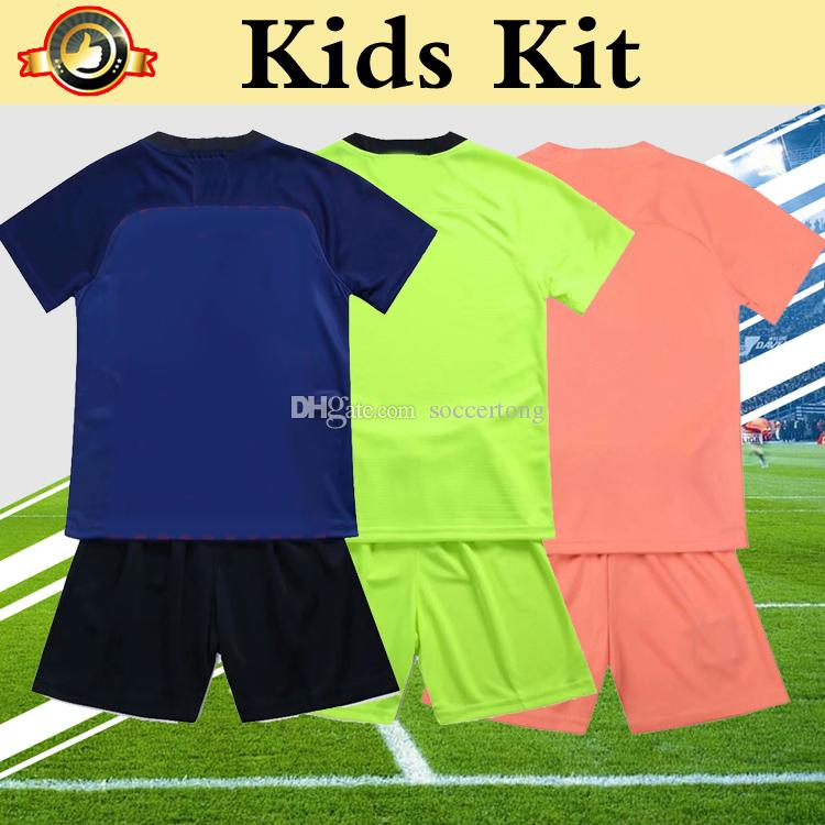 6e66e2b054 ... san francisco 2019 Kids Kit Barcelona 2019 Soccer Jersey Home Away  Third 18 19 MESSI SUAREZ ...