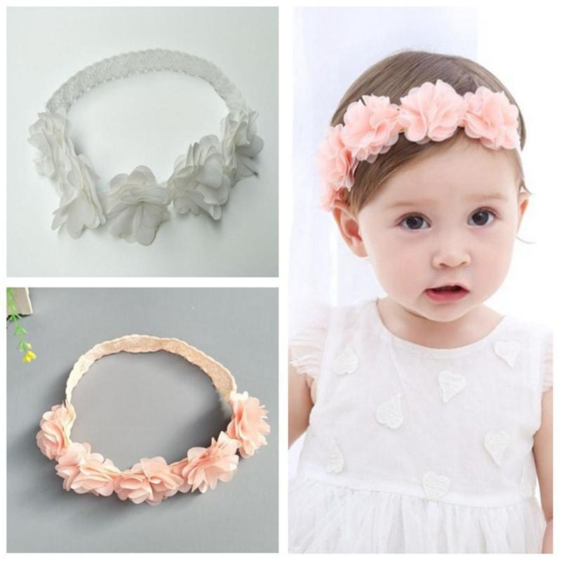 8851afea49c 2018 New Cute Lace Flower Kids Baby Girl Toddler Headband Hair Band Baby  Headwear Accessories Wholesale Baby Hair Accessories Fashion Hair  Accessories From ...
