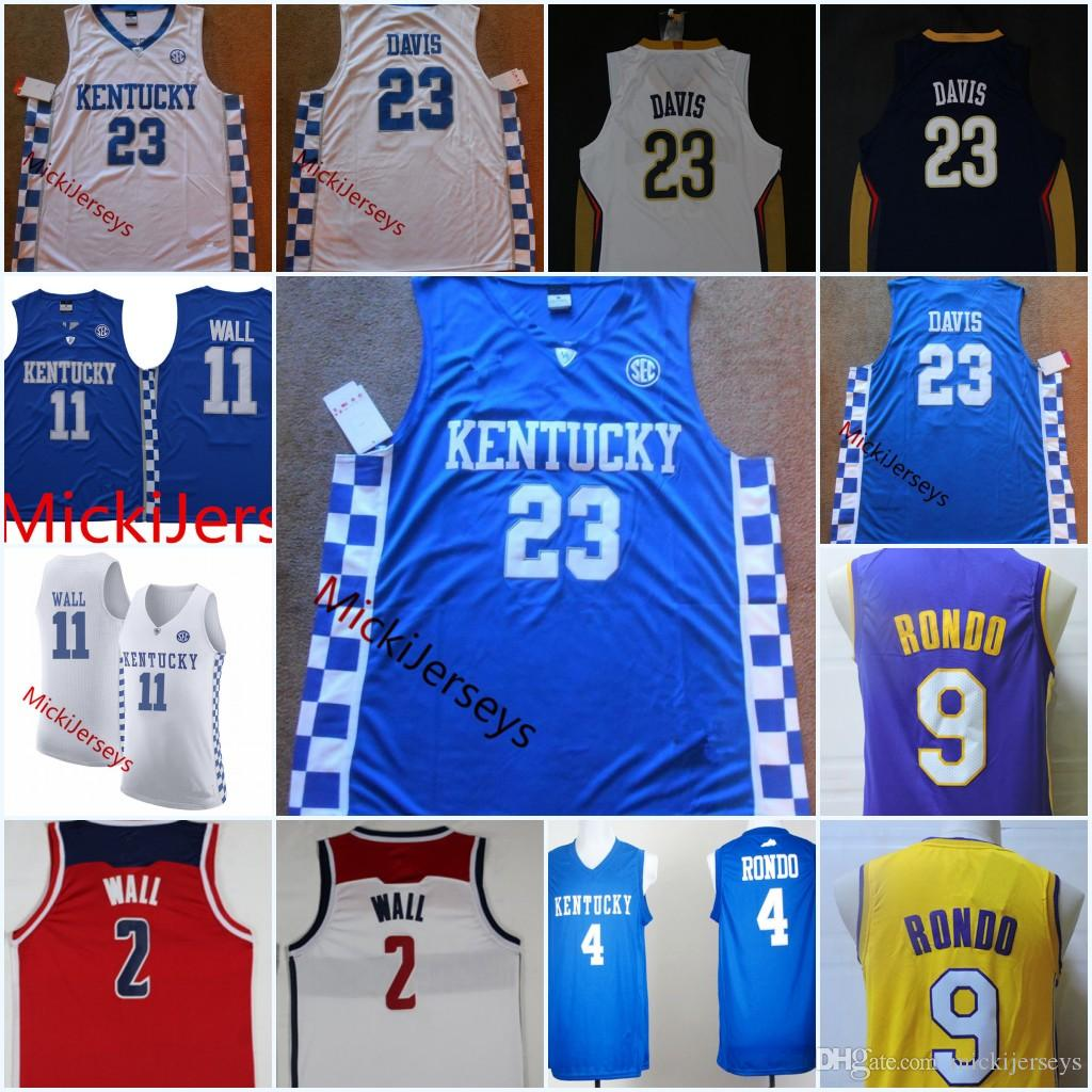 100% authentic 2fa30 e95d5 coupon kentucky wildcats anthony davis jersey f8c25 700bf