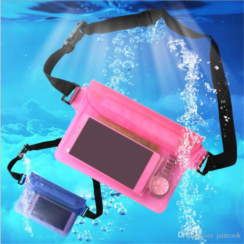 Funda universal Funda a prueba de agua Funda impermeable Bolsa impermeable bajo el agua Funda protectora para bolsillo Teléfono móvil Samsung iPhone dinero TO408