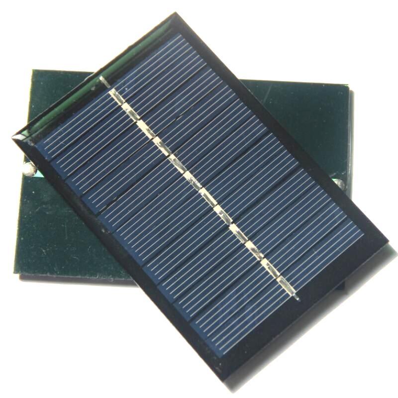 Hurtownie 0.6watt 6 V Mini Solar Cell Polikrystaliczne Moduł Panelu Słonecznego DIY Ładowarka Słoneczna 90x60mm 36 sztuk / partia Darmowa Wysyłka