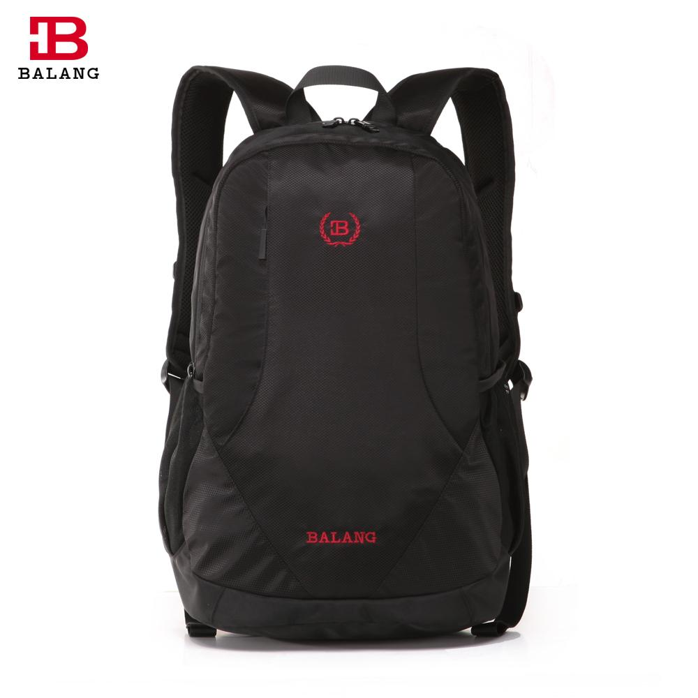 615b9c25d7 BALANG Brand Fashion Men Lightweight Practical School Waterproof Nylon 16  Inch Laptop Backpack College Travel Unisex Bags Unisex Bag Laptop Backpacks  ...
