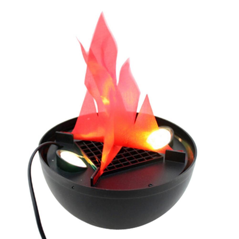 36329932dd9 Compre LED Que Cuelga La Lámpara De La Llama Falsa Antorcha De La Luz Del  Fuego Del Tazón De Fuente Del Partido De La Fiesta Decoración Fuentes De  Halloween ...