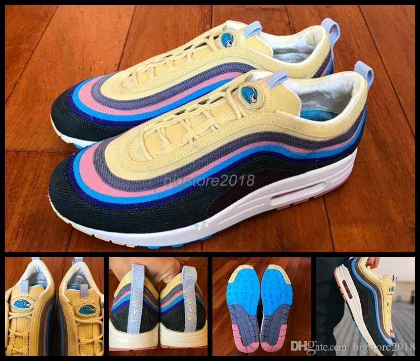 513f4edba13 2018 Release Sean Wotherspoon x VF SW Hybrid Men Women Running Shoes M  Multicolor Mens Trainers Sports Sneakers 36-46