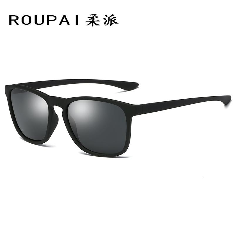 40ac77db887aa Roupai Vintage Men Polarized Oversized Driving Square Glasses Brand Luxury  Fashion Hipster Sunglasses Rave Festival Punk 80s 90s Retro Sunglasses  Baseball ...