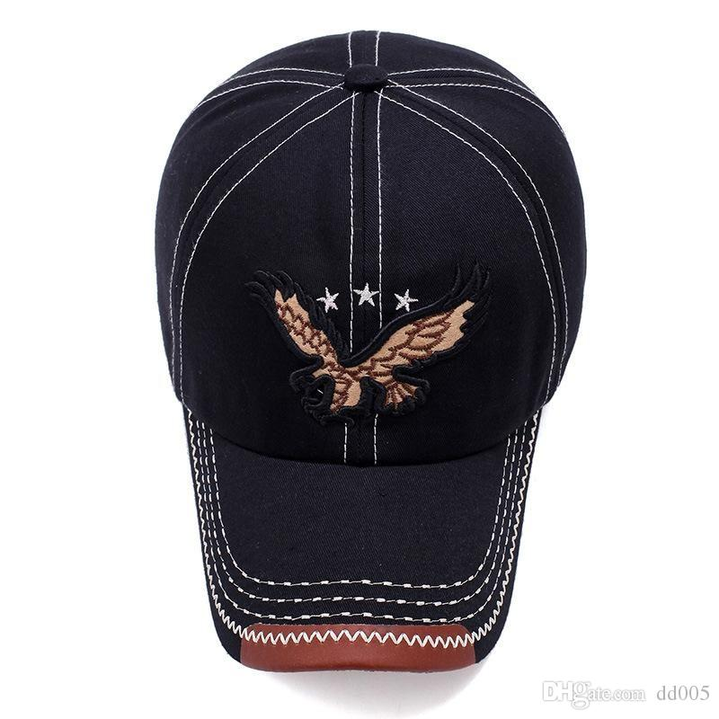 0517d2985a0ad Embroidery Style Outdoor Visor Cap Universal Snapbacks Breathable Caps  Portable Cotton Sweat Absorb Baseball Hats Good Quality 9 5bd Dd 59fifty Snapback  Cap ...