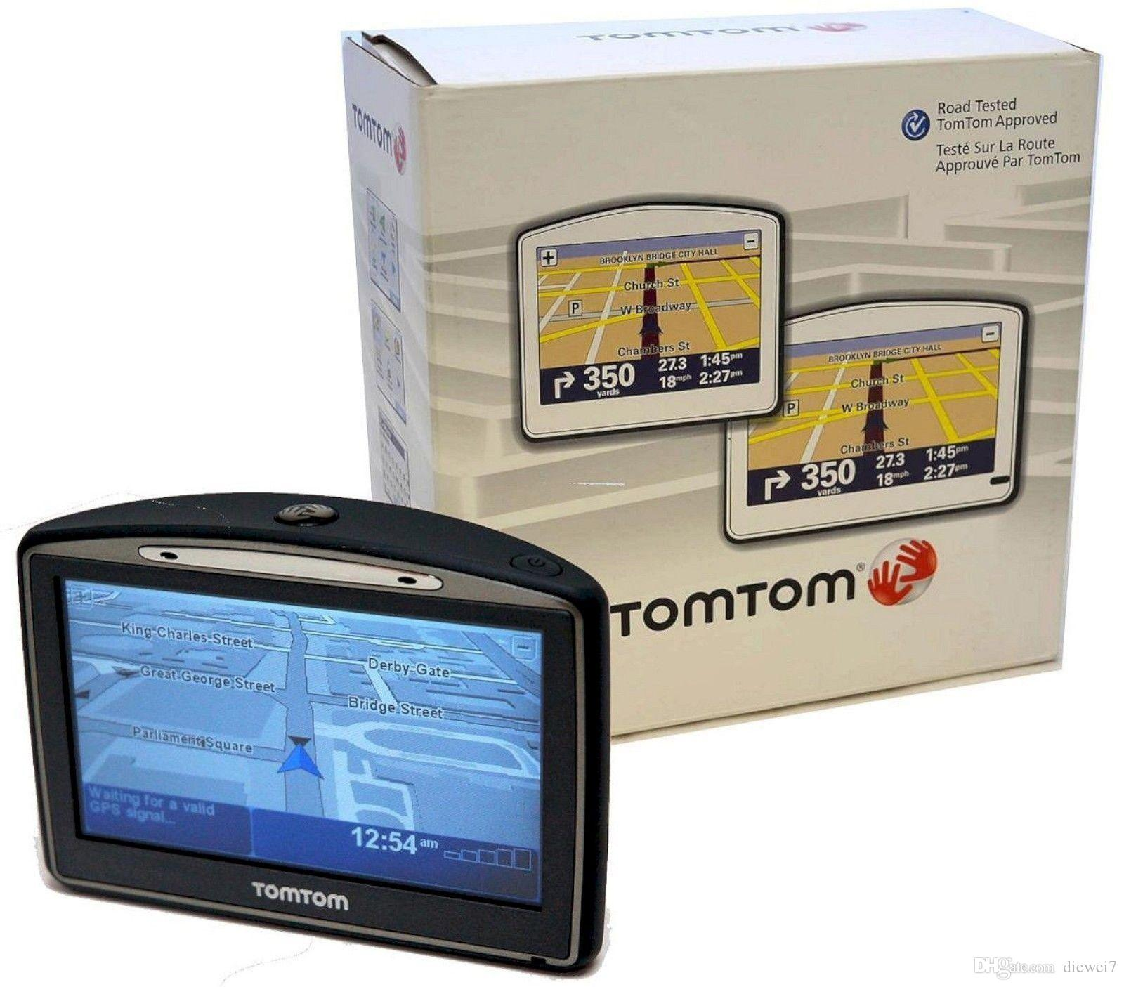 2019 NEW TomTom GO 720 Portable GPS Navigator Unit Set In Box Tom