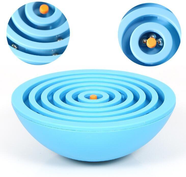 Balance Labyrinth Ball Maze Puzzle Game Kids Children Brain Teaser Toys Sensory Integration Fine Motor Skills