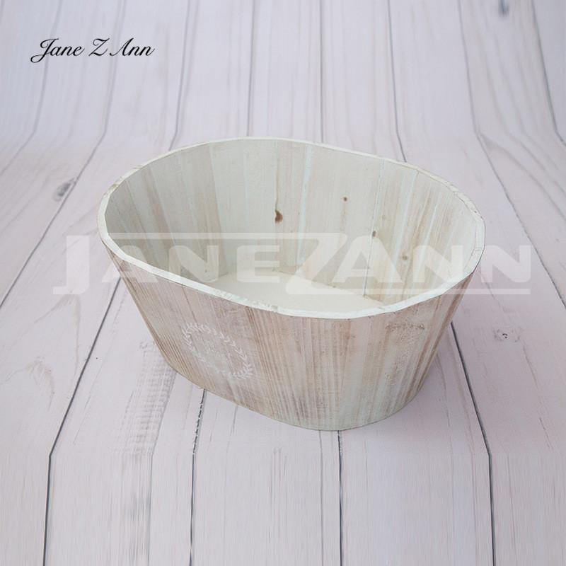 2018 Jane Z Ann Newborn Photo Wooden Basket Infant Photo Assist ...