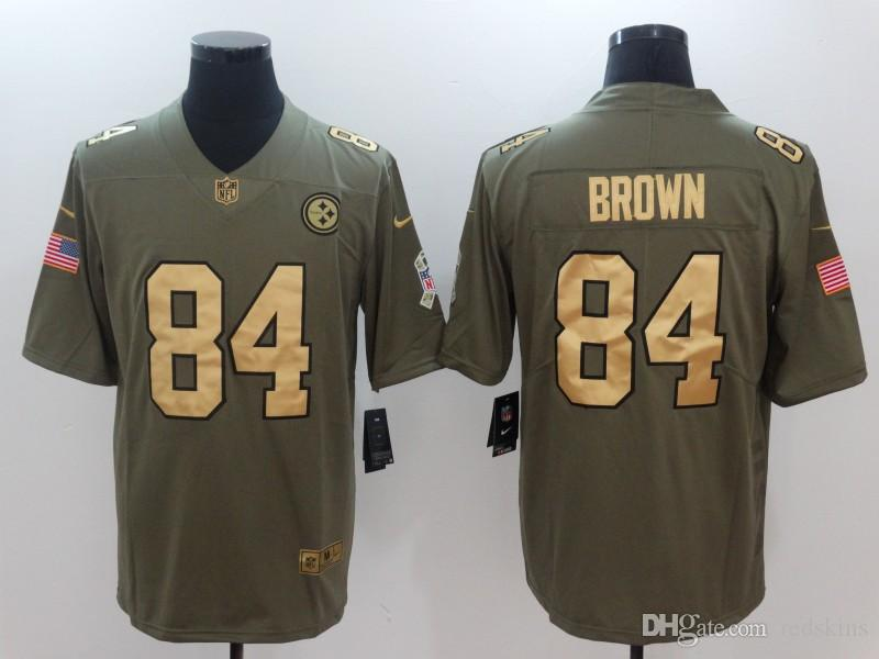 b5c7d2397 JuJu Smith-Schuster Jersey James Conner TJ Watt Ben Roethlisberger Camo  Custom Color Rush American Football Jerseys Women Men Youth Kids Kit  Antonio Brown ...