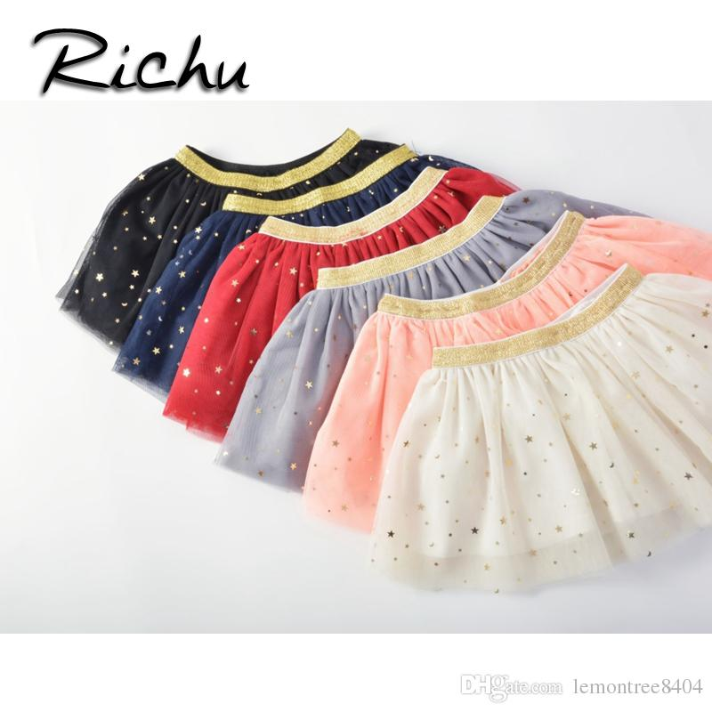 d586d17789512 Richu skirt shorts candy colors baby girl skirt tutu christmas skirts for  girls shorts sequins Skirt for dancing cheap on sale