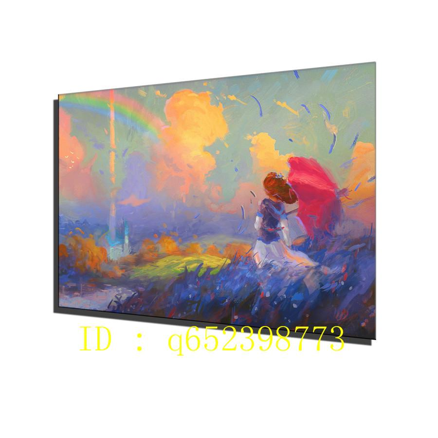 2019 cute girl alone paint hd canvas printing new home decoration art painting unframed framed from q652398773 7 69 dhgate com
