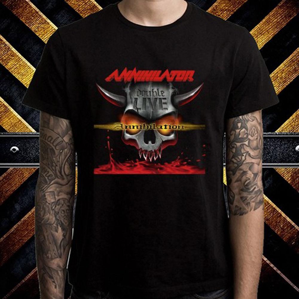 3xl AnnihilatorDouble Del Bstdhgate05Dhgate Band A11 Para Annihilation Camiseta Metal Hombre Compre Live Talla S 01 Negra com rdCxBoe