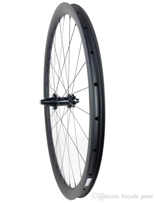 29er MTB XC BOOST carbon wheels 34mm hookless 30mm deep clincher tubeless tyres 15X110 12X148 straight pull wheelset UD 3K 10s 11s XX1 12s