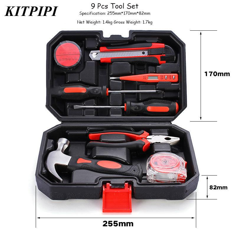 2018 Kitpipi Hand Tools Set For Woodworking Tool Set Carbon Steel