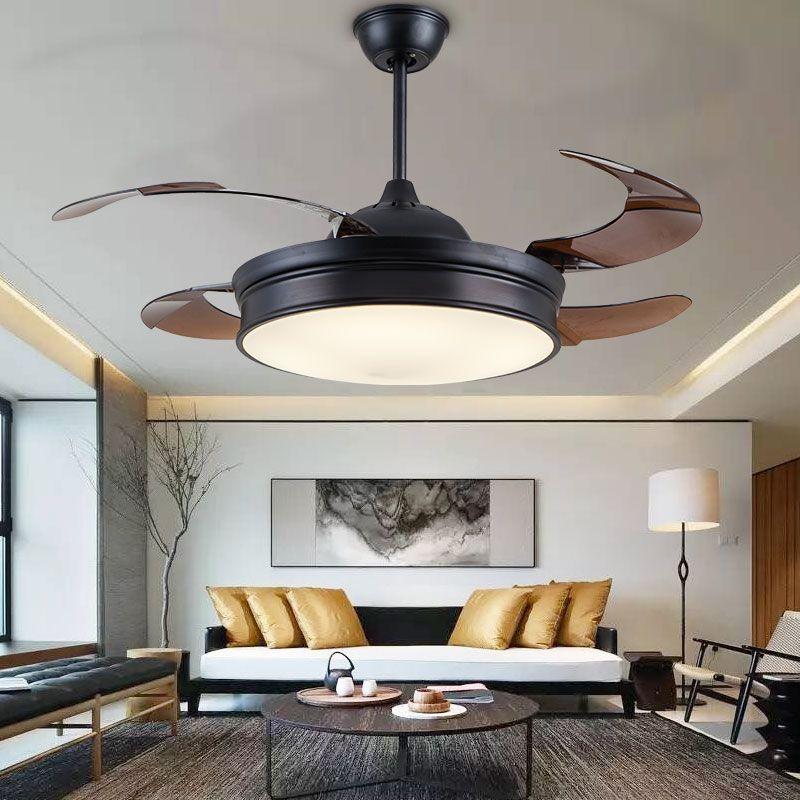 Modern Invisible Acrylic Leaf Led Ceiling Jpg
