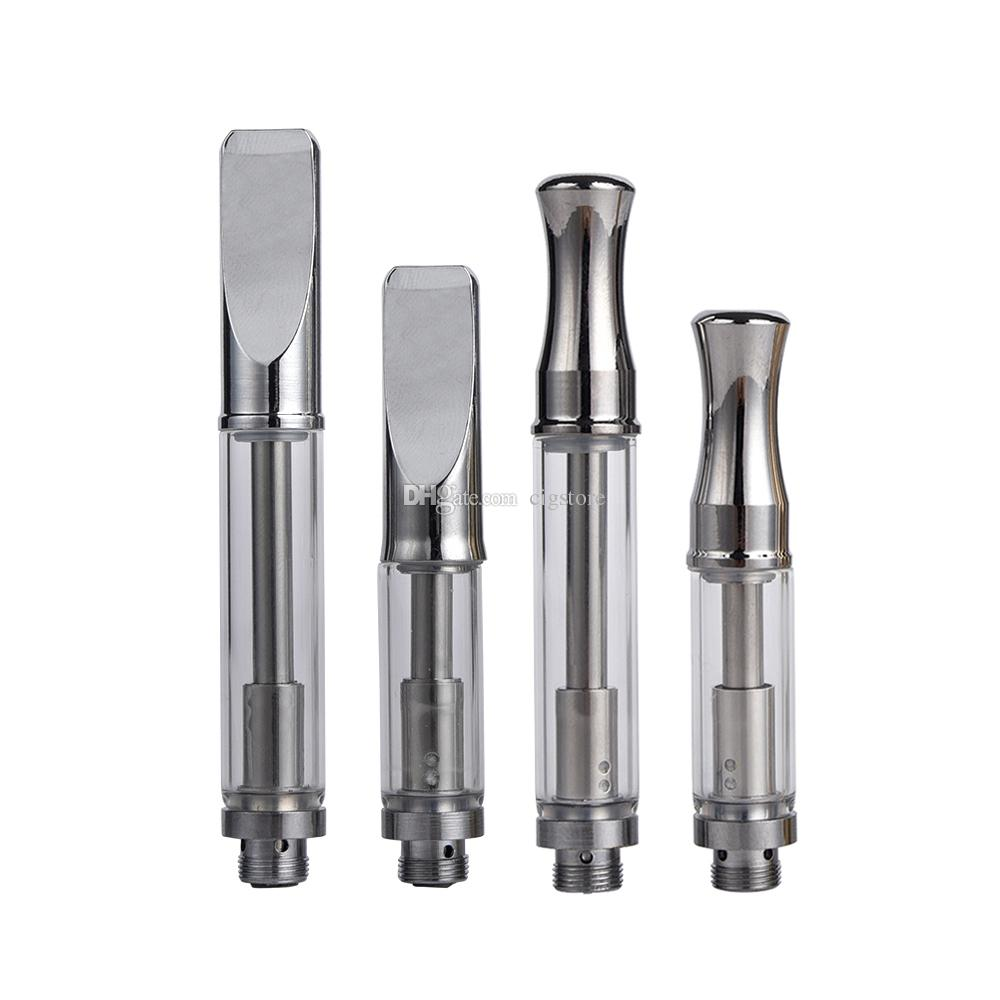 Top selling Pyrex glass cartridge 92A3 vape cartridges 92a3 atomizer 510 vaporizer dual cotton coil .5 1ml fit bud touch battery