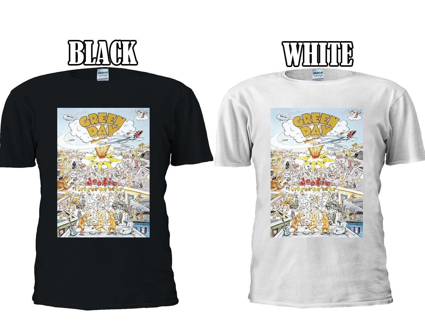 6815b61ddcb Compre GREEN DAY DOOKIE PUNK ROCK BAND NUEVA Camiseta Chaleco De Béisbol  Hombres Mujeres Unisex 2667 A $11.01 Del Teestotal | DHgate.Com