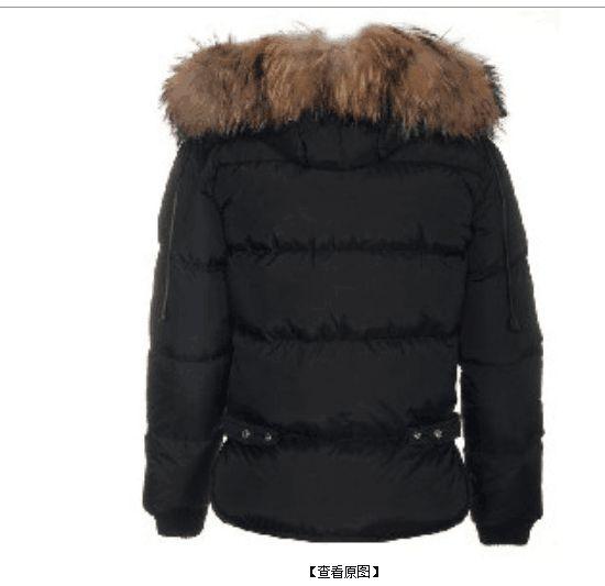 2018 nuovo arrivo all'ingrosso degli uomini nuovi D2 giù parka collo di pelliccia blu / grigio / nero giacca invernale cappuccio di pelliccia giù cappotto spedizione gratuita