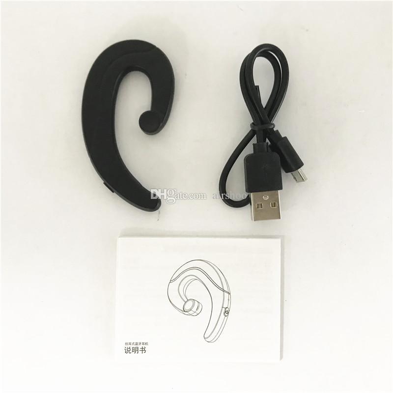 4.1 Bluetooth Oreille Crochet Écouteurs Sport Sans Fil Casque 3 Couleurs Casques De Bonne Qualité Écouteur Avec Retail Box DHL Gratuit